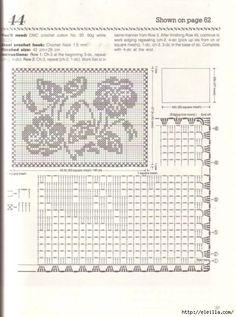 Nihon Vogue Fancy Crochet Lace - רחל ברעם - Álbuns da web do Picasa Doilies Crafts, Lace Doilies, Crochet Doilies, Crochet Lace, Crochet Hooks, Baby Knitting Patterns, Lace Knitting, Baby Patterns, Crochet Patterns
