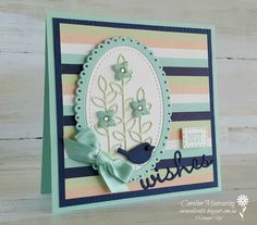 Well Said Bundle by Stampin' Up! Occasions Catalogue 2019. Art with Heart team Colour Creations blog hop - Pool Party.