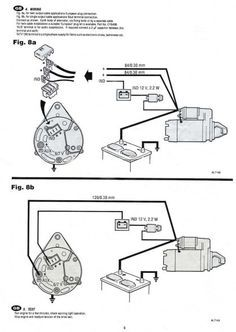 Prestolite Alternator Wiring Diagram Marine Alternator Car Alternator Automotive Electrical