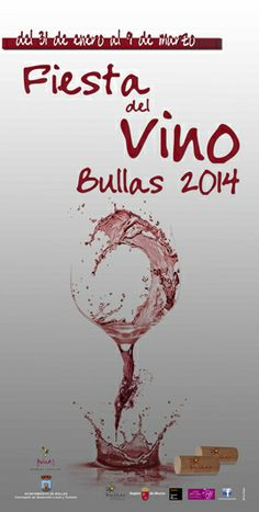 Fiesta del Vino de #Bullas donde encontrarás cenas maridaje, ruta vino y tapa Tapawine, catas de vino y maridaje con cine y mucho más aquí http://www.murciaturistica.es/es/turismo.evento_agenda?evento=M418796&utm_source=Pinterest&utm_medium=Redes%20Sociales&utm_campaign=Fiesta%20del%20Vino%20de%20Bullas
