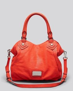 MARC by MARC JACOBS Classic Q Lizard-Embossed Fran Tote, Infra Red (NWT) #MarcbyMarcJacobs #TotesShoppers