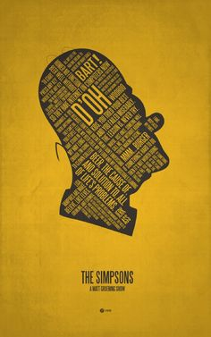 movi poster, the simpsons, homer