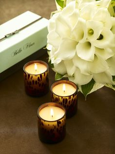 Floral trio features: White Orchid Tea, Jasmine Verbena, and Orange Blossom Pomegranate