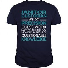 (Upcycled Sweater, Diy Shirt)  - Awesome Tee For Janitor Custodian. I WANT THIS =>  - #teachergiftideas #giftsfordad #giftideasformom #handmadedollclothes.
