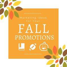 Promotionally Yours: FALL Promotions - Promotionally Yours, Sheri Breau...