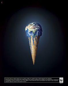 Cuando nuestros hijos son nuestro tiempo, habremos destruido una gran parte de nuestro ambiente por el calentamiento global.
