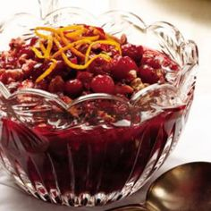 Fresh cranberries get crunch from walnuts and an infusion of sweetness from dried cherries in this take on a classic marmalade. (thanksgiving recipes)