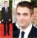 seeing Robert Pattinson without K. Stewart, golden globes 2013
