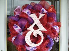 XO Valentine Wreath