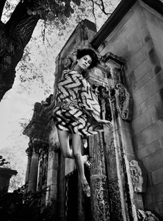 Model Dorothea McGowan 60's