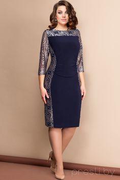 Платье Elady 2604 чернильный Simple Dresses, Beautiful Dresses, Casual Dresses, Short Dresses, Elegant Outfit, Classy Dress, Women's Fashion Dresses, Dress Outfits, Wedding Outfits For Women