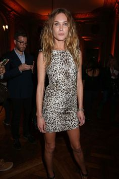 Erin Wasson at a Tod's party in Paris  [Photo by François Goizé]