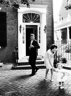 JFK and Jackie Kennedy, the perfection of the East Coast personified.
