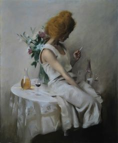 Manners Irlene oil by Swedish painter Nick Alm 2013 Your Paintings, Beautiful Paintings, Figure Painting, Figure Drawing, Classical Realism, Islamic Art, Contemporary Artists, Fantasy Art, Illustration Art