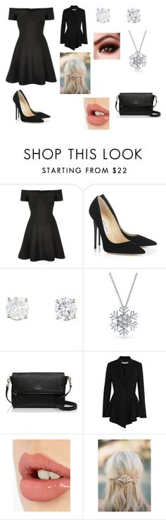 """""""Untitled #199"""" by cooldee ❤ liked on Polyvore featuring River Island, Jimmy Choo, Bling Jewelry, Kate Spade, Givenchy, Charlotte Tilbury, women's clothing, women, female and woman"""