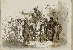 Dessins relatifs à Cervantes / D. Quichotte - Biblioteca Nacional de España - Dibujos - http://cervantes.bne.es/