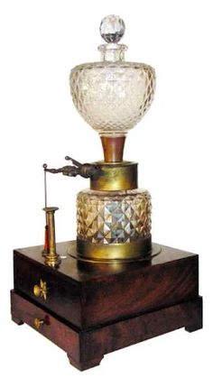 Gas lamp from the nineteenth century