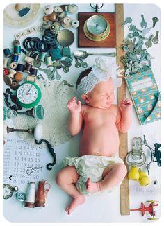 birth announcement photo:  via faire-part-de-naissance