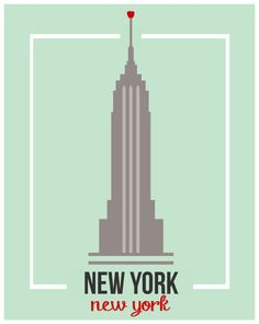 Empire State Building by TheBellaPrintShop