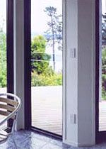 Sashless Double Hung Window