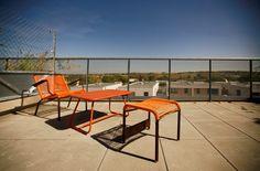 Terrasse avec vue sur les coteaux, Appartement T3 - Résidence UpGarden - Saint-Orens