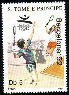 Stamp from São Tomé and Príncipe | Barcelona 1992, Olympic Games