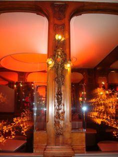 Art Nouveau ~ Lucas Carton, restaurant Alain Senderens, 19 place de La Madeleine, Paris VIIIè - 1902? 1904-05?