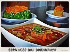 Chefs lunáticas: Sopa miso con cochayuyo