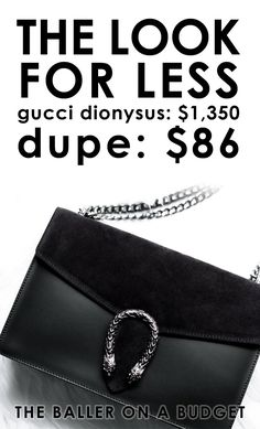 $1,350 Gucci Dionysus vs. a $86 genuine Italian leather dupe: Read the review and find out where to buy here! - THE BALLER ON A BUDGET