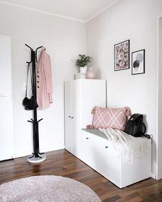 unglaublicher Flur - - Dekoration Flur - New Ideas Apartment Design, Apartment Living, Apartment Entryway, Room Ideas Bedroom, Bedroom Decor, Room Interior Design, Dream Rooms, Home And Living, Living Room Decor
