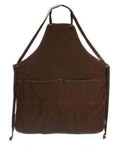 full apron, canvas