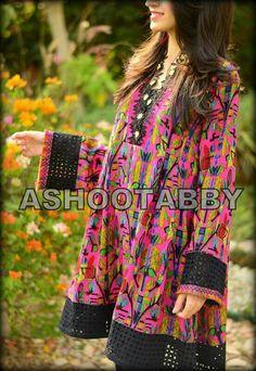 Stylish Dress Designs, Stylish Dresses For Girls, Casual Dresses, Casual Outfits, Silk Kurti Designs, Kurta Designs Women, Pakistani Formal Dresses, Pakistani Dress Design, Frock Fashion