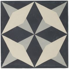 Nix - Valletta Encaustic - Wall & Floor Tiles | Fired Earth