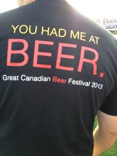endless beer...