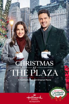 Christmas at The Plaza - a Hallmark Channel Countdown to Christmas Movie starring Elizabeth Henstridge, Ryan Paevey, Bruce Davison and Julia Duffy!