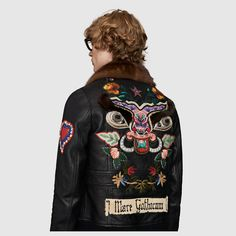 Gucci Men - Bomber jacket with embroidery - 439564XW5321151