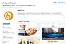 JM Ocean Avenue App in Itunes