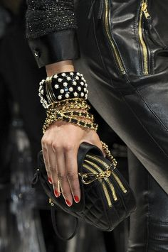 Style Tip: Always match your metals. Gold with gold, silver with silver. Mismatched metals create a disorganized look.