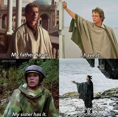 The poncho is strong in my family...