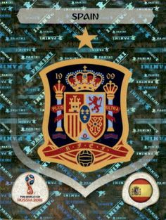 03128e45db1 Emblem - Spain World Cup Russia 2018, World Cup 2018, Fifa World Cup,