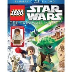 BARGAIN LEGO Star Wars: The Padawan Menace Blu-ray £1.99 delivered at Amazon - Gratisfaction UK
