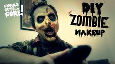 Zombie Makeup tutorial!