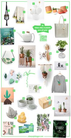 Urban Jungle Bloggers - green giftguide for plant lovers and urban gardeners