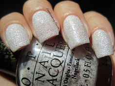 Captivating Claws: OPI Bond Girls Liquid Sand Polishes--Solitaire