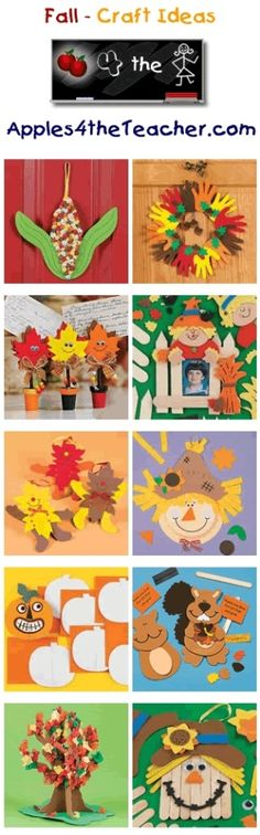 Fun Fall crafts for kids - Fall craft ideas for children. by kasrin.knackebrot