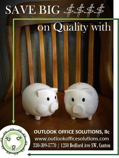 Great Deals Every Day On Quality Used Office Furniture Used Office Furniture, Furniture Outlet, Piggy Bank, Great Deals, Money Box, Money Bank, Savings Jar