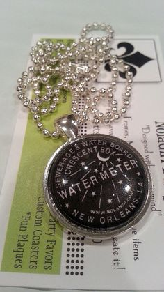 New Orleans  Water Meter Necklace  New Orleans by scontrino1970, $11.00