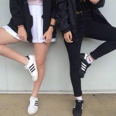 Adidas Originals Superstar Casual Shoes Gold standard White Black