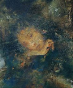 Hu Jundi - combines contemporary with vintage elements in his ethereal artwork