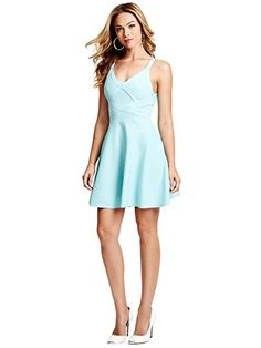 GUESS Women's Double-Strap Fit-and-Flare Bandage Dress, GROUPIE GREEN (XS) GUESS http://www.amazon.com/dp/B00M2MW9R6/ref=cm_sw_r_pi_dp_Odcyub01R8CSX